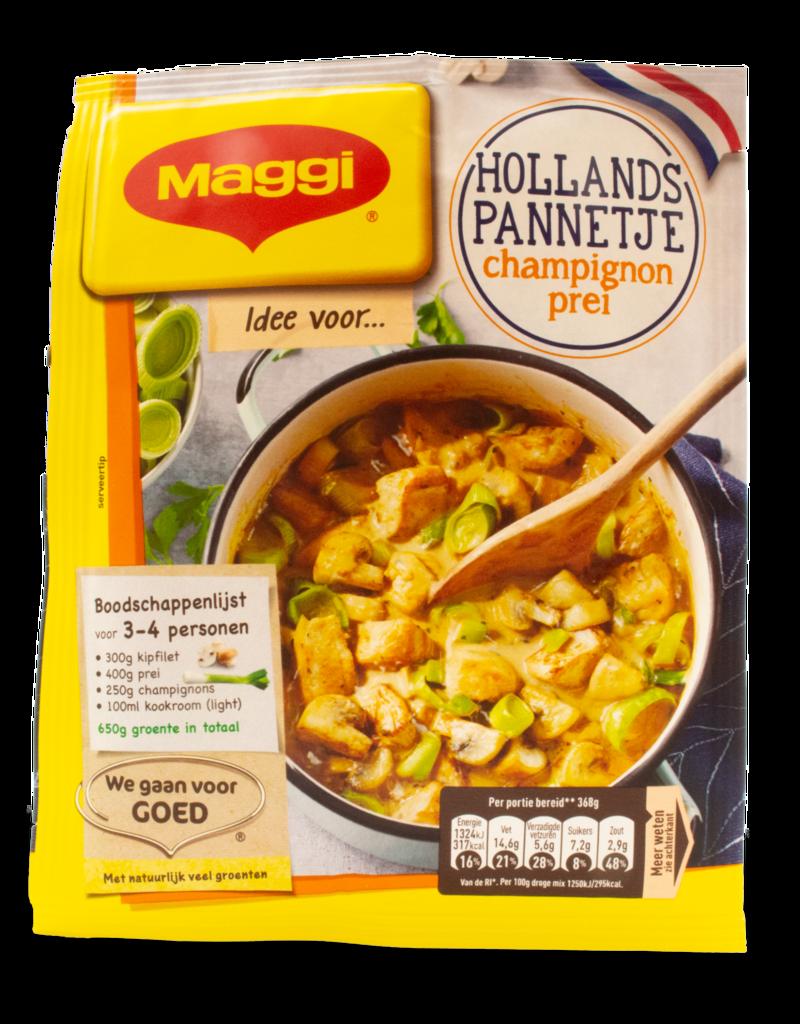 Maggi Maggi Hollandse Pannetje Chicken Leek Mushroom 40g