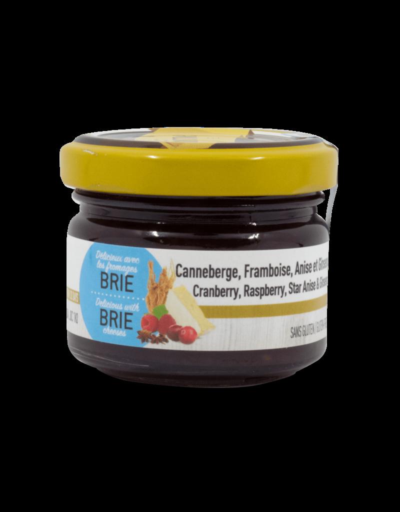 Duhaime Duhaime Cranberry, Raspberry, Star Anise & Ginsing Spread 70g