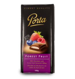 Porta Chocolate Bar - Forest Fruit Filled 100g