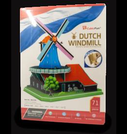 CubicFun Windmill 3D Puzzle 71pcs