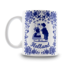 Holland Blue Mug
