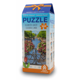 House of Holland 500pcs Puzzle - Colourful Canal