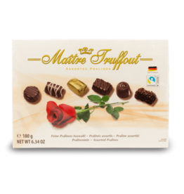 "Maitre Truffout Assorted Pralines ""Rose"" 180g"