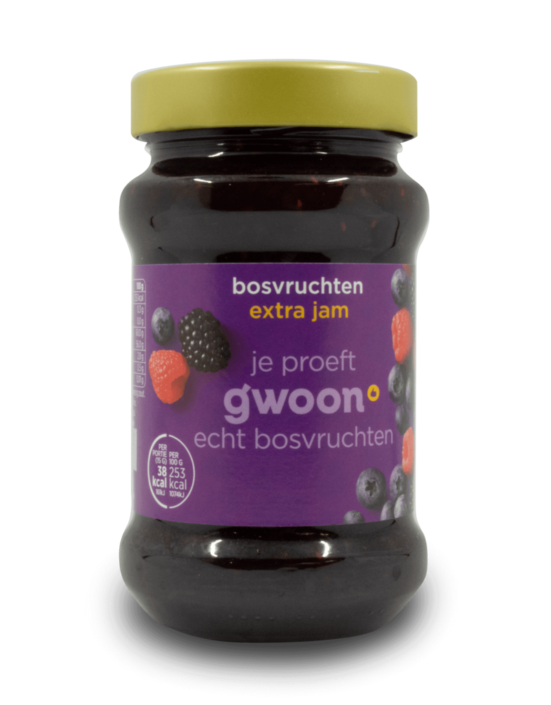 Gwoon Gwoon Extra Jam - Forest Fruit 450g