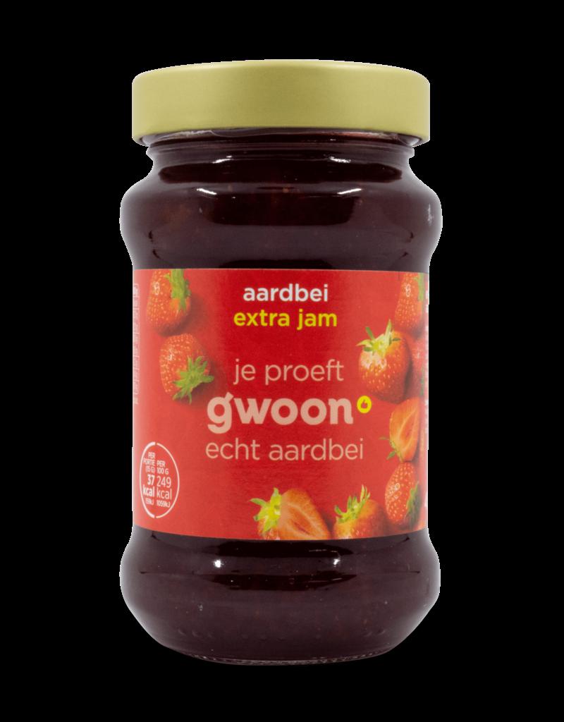 Gwoon Gwoon Extra Jam - Strawberry 450g