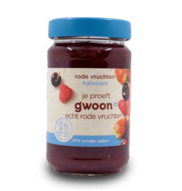 Gwoon Halvajam Red Fruit Jam 320g