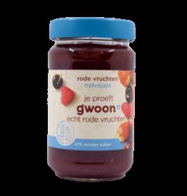 Gwoon Halvajam Red Fruit Jam 320g