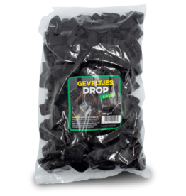 Mackay Liquorice Facades (Geveltjes Drop) 1kg