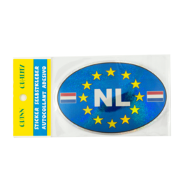 NL Car Sticker -  Blue