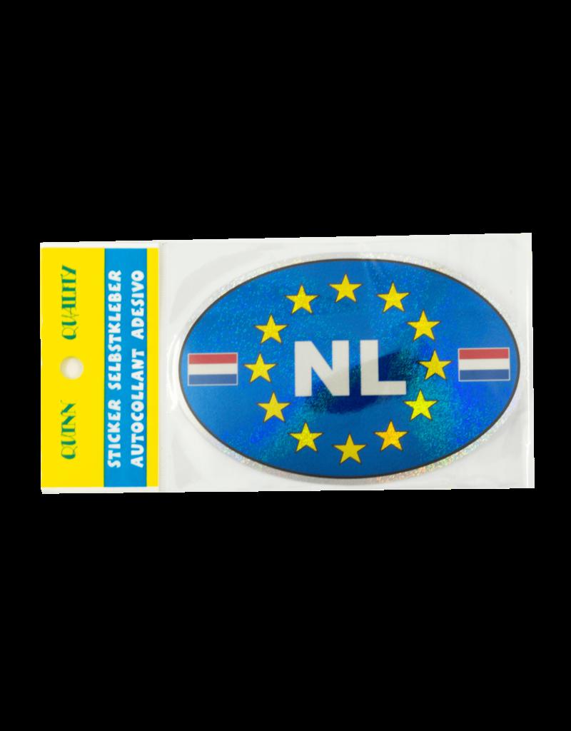 NL Car Sticker -  Blue