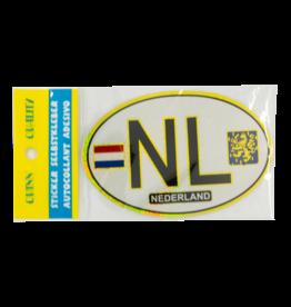 NL Car Sticker -  White