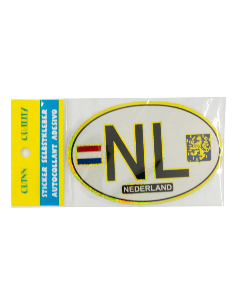 NL Car Sticker -  White