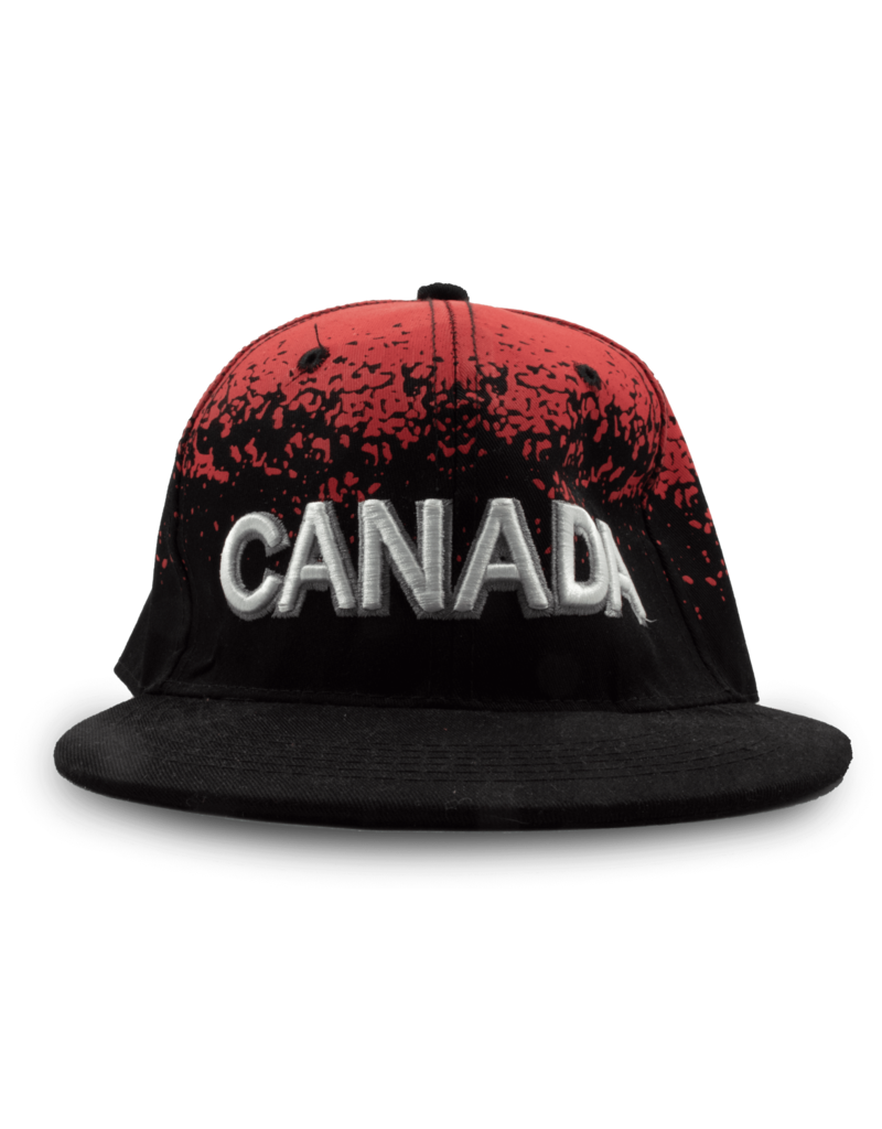 Cap - Canada Distressed, Red & Black