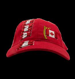 Cap - Canada Flagpole, Red