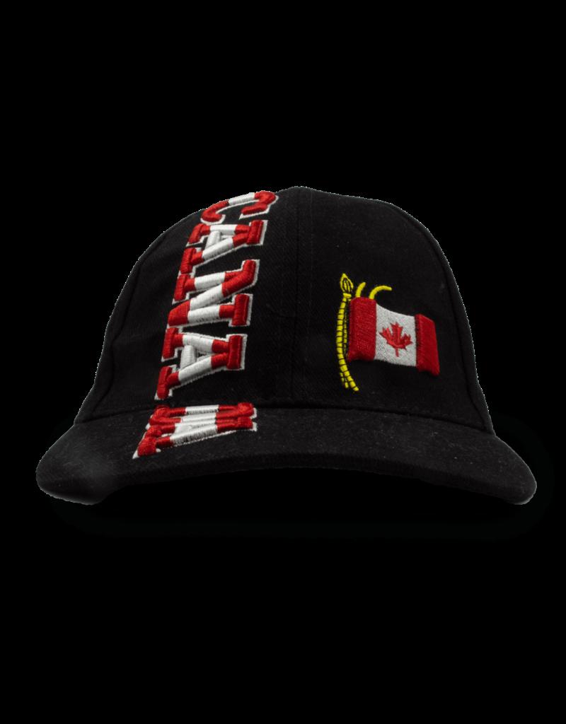 Cap - Canada Flagpole, Black