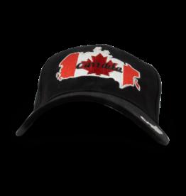 Cap - Canada Map, Black