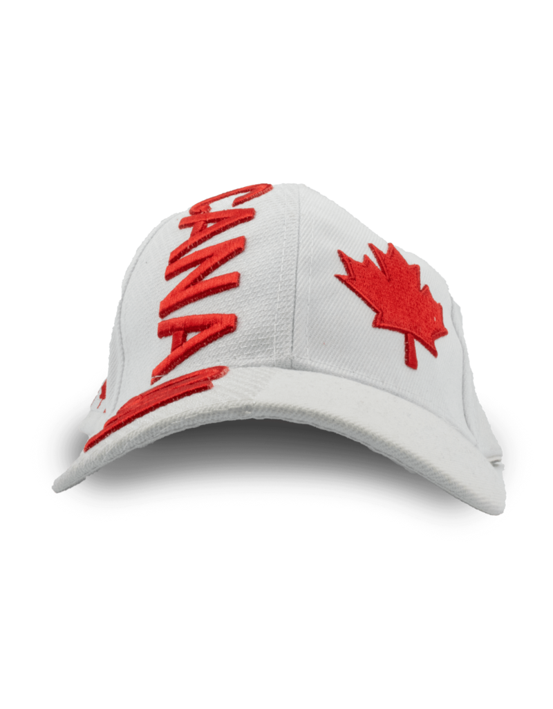 Cap - Canada Maple Leaf, White