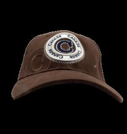 Cap - Canada Circle, Brown