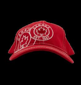 Cap - Canada est 1867, Red