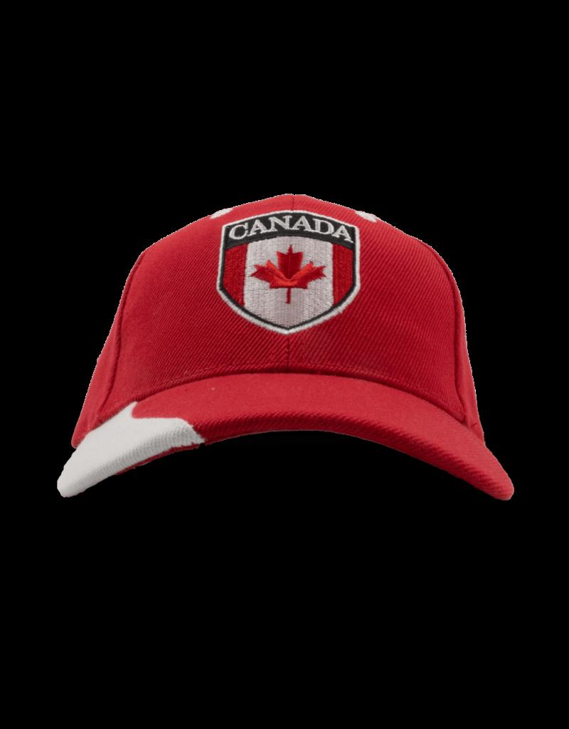 Cap - Canada Emblem, Red, Child Size