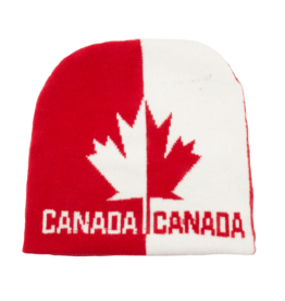 Toque - Canada Red White Split