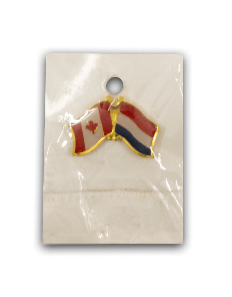 Flag Pin - Canada Netherlands