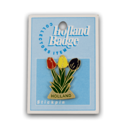 Holland Badge - Tulip Pin
