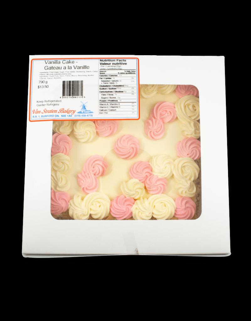 Van Straten Bakeries Van Straten Bakery 20cm Vanilla Cake