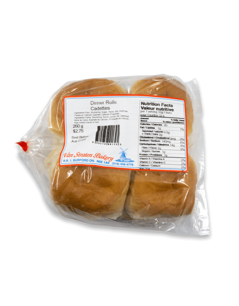 Van Straten Bakeries Van Straten Bakery Dinner Rolls 8pk