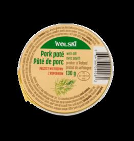 Wolski Pork Pate - Dill 130g
