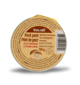 Wolski Pork Pate - Mushroom 130g