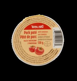 Wolski Pork Pate - Tomato 130g