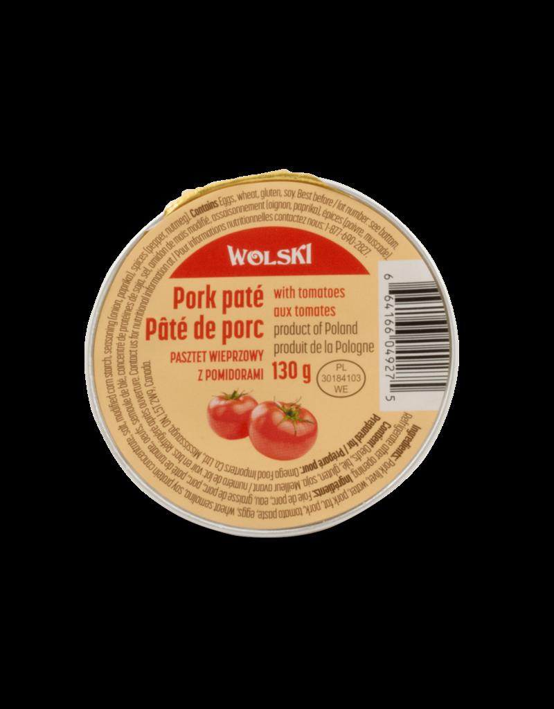 Wolski Wolski Pork Pate - Tomato 130g