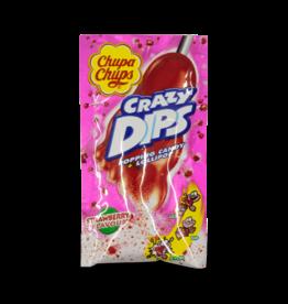 Chupa Chup Crazy Dips Strawberry 14g