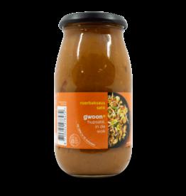 Gwoon Gwoon Roerbaksaus Sate Sauce 490g