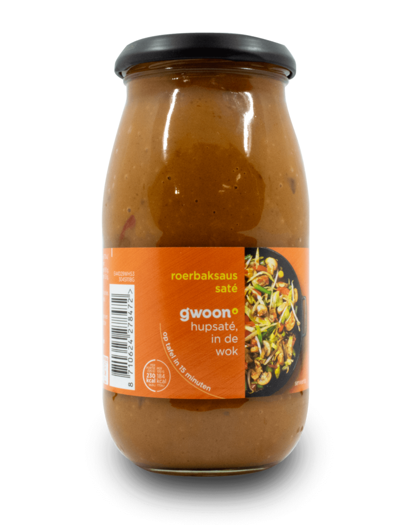 Gwoon Roerbaksaus Sate Sauce 490g The Dutch Shop European Deli Grocery Lifestyle More