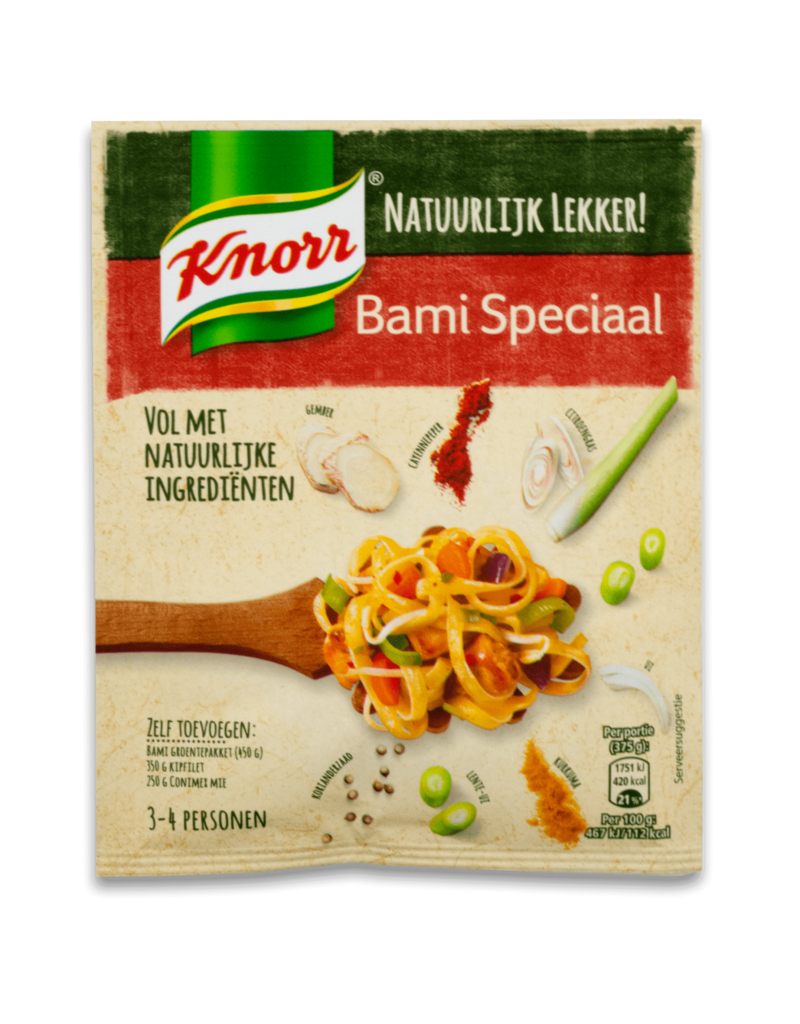 Knorr Knorr Natural Bami Speciaal Mix 35g