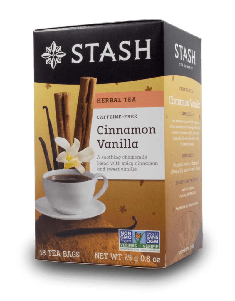 Stash Stash Cinnamon Vanilla Decaf Tea