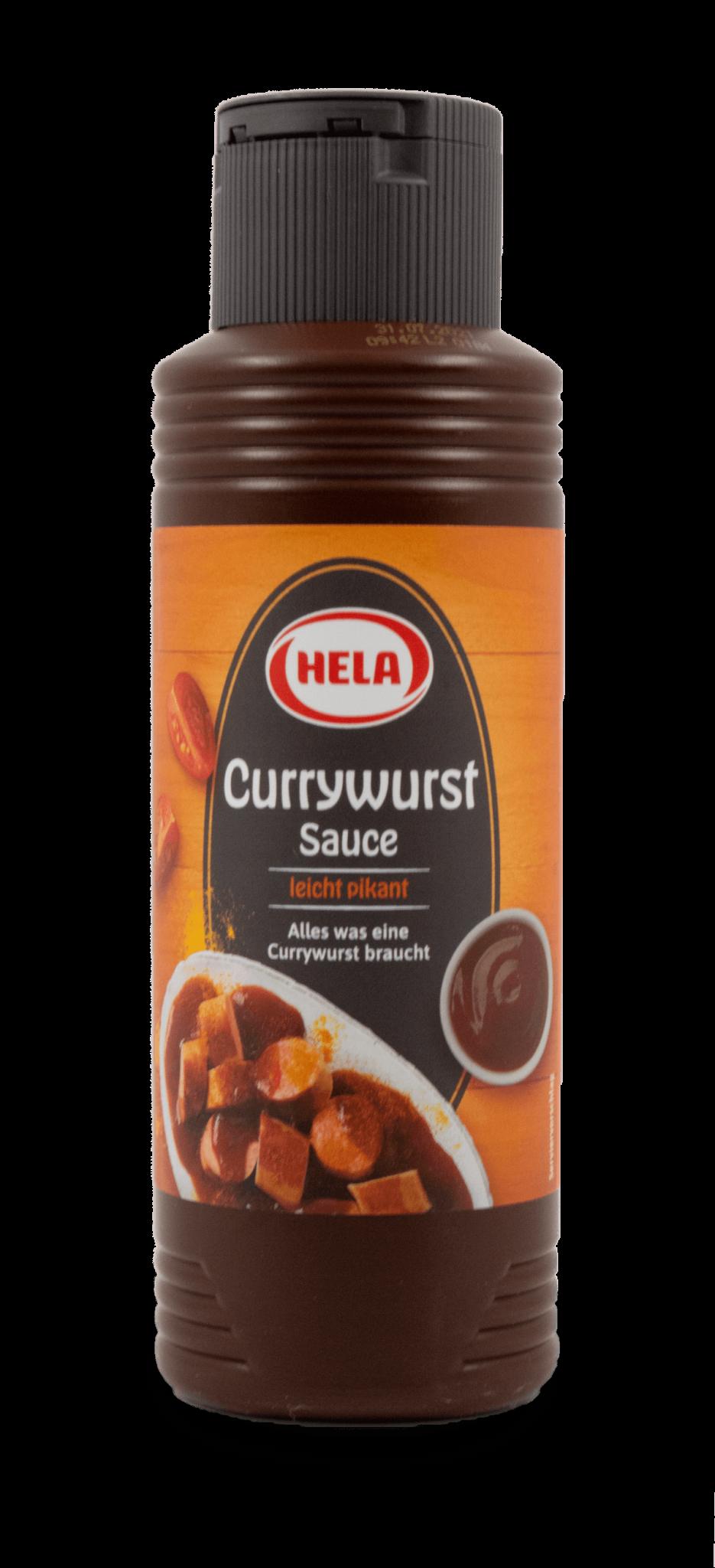 Hela Curry Wurst Sauce