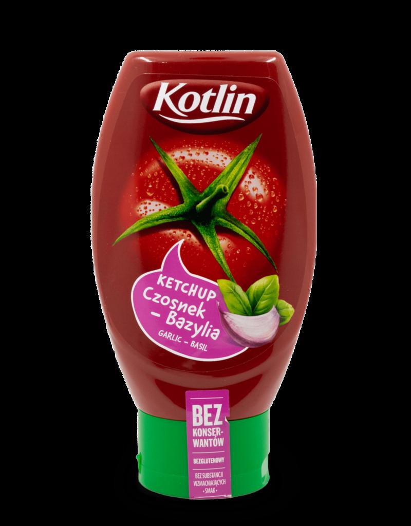 Kotlin Kotlin Garlic Basil Ketchup 450g