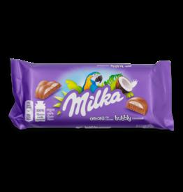 Milka Bubbly Coconut Chocolate Bar 95g