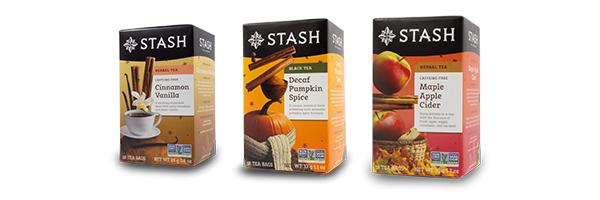 Stash Fall Teas
