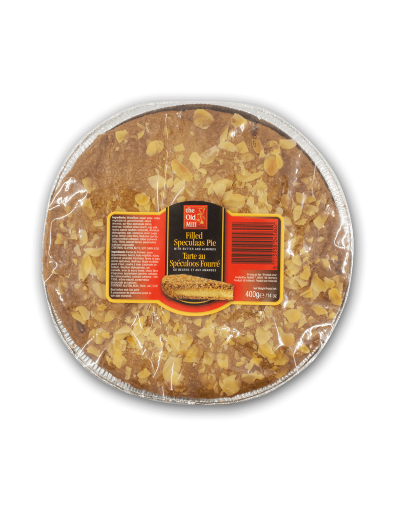 The Old Mill The Old Mill Filled Speculaas Pie 400g