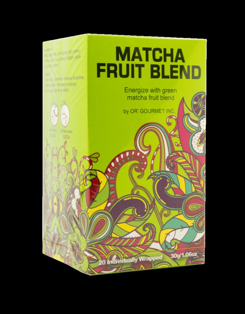 Earthteaze Earthteaze Matcha Fruit Blend 20pk