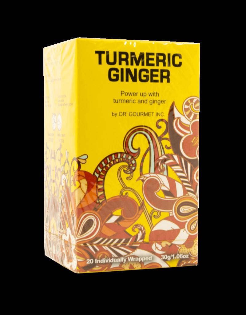 Earthteaze Earthteaze Turmeric Ginger 20pk