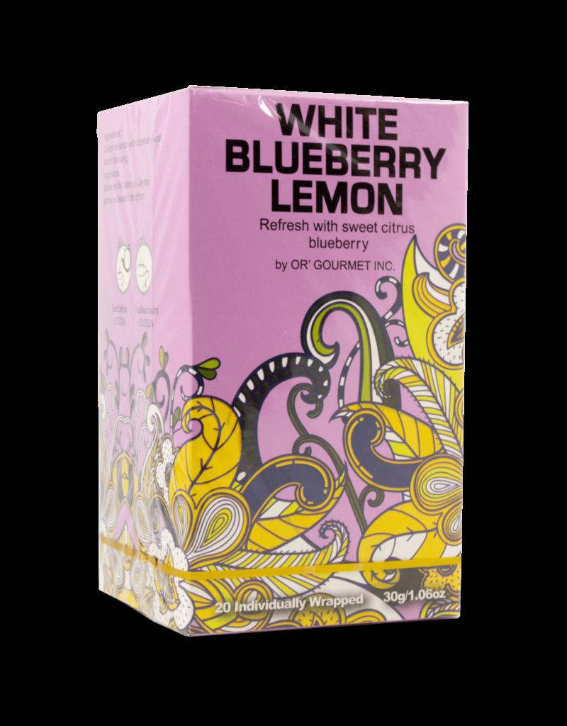 Earthteaze Earthteaze White Blueberry Lemon 20pk