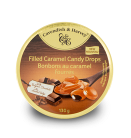 Cavendish & Harvey Chocolate Filled Caramel Drops 130g