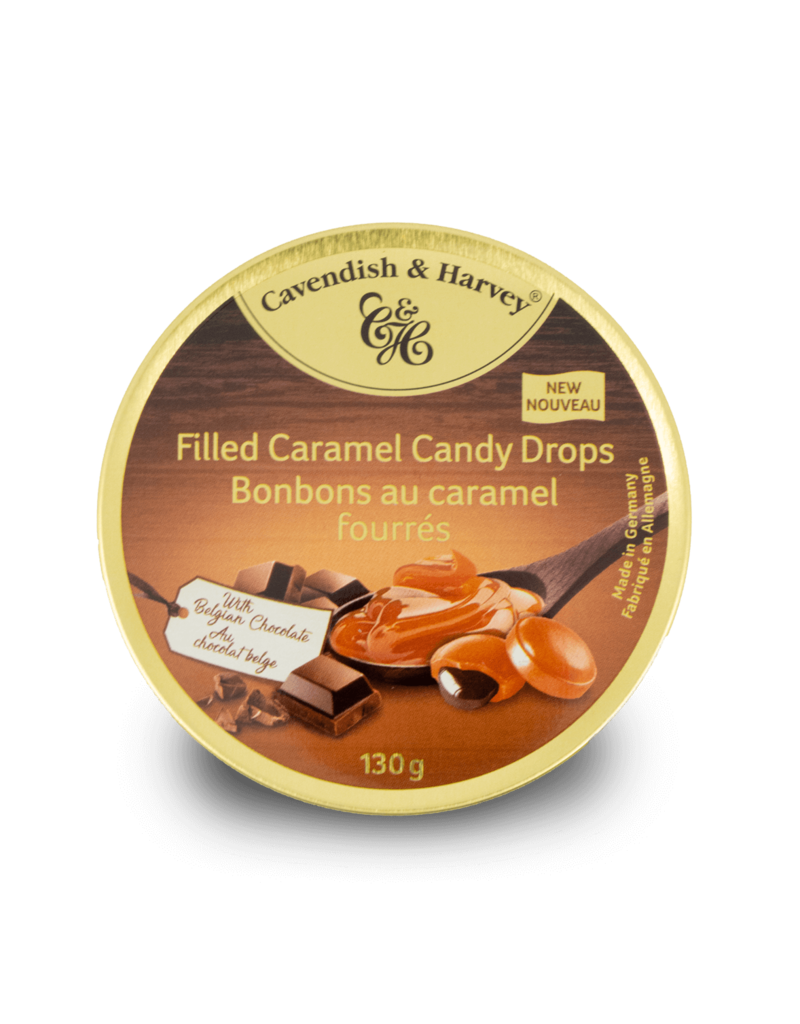 Cavendish & Harvey Cavendish & Harvey Chocolate Filled Caramel Drops 130g