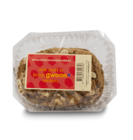 Gwoon Almond Speculaas Brokken 250g