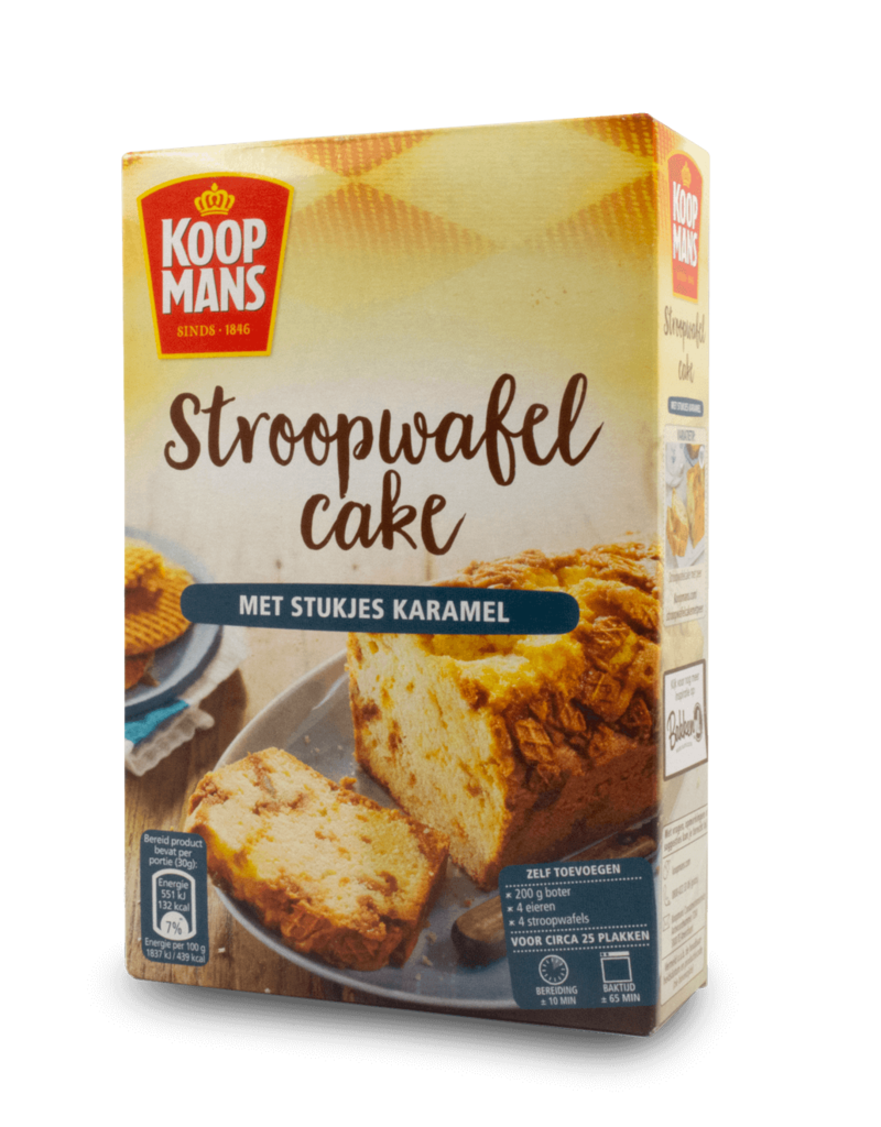 Koopmans Koopmans Stroopwafel Cake Mix 400g